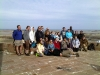 University of Portsmouth MSc Coastal and Marine Resource Management - fieldtrip at Seymour Tower 22 March 2012